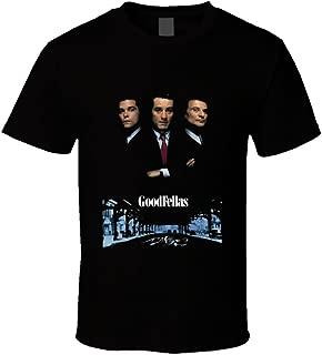 The Village T Shirt Shop Goodfellas Retro 90's Gangster Movie T Shirt