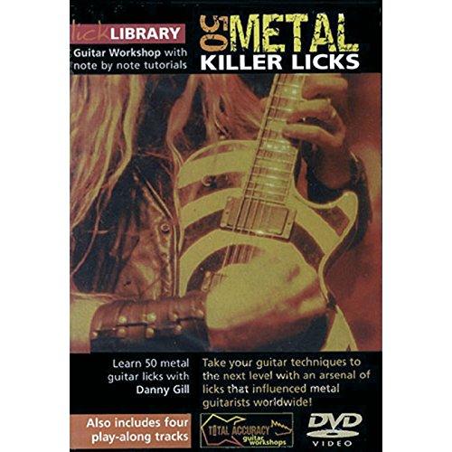 Roadrock International Lick Library: 50 Metal Killer Licks DVD