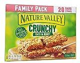 Paquete Barras de granola Nature Valley Crunchy Avena y Miel Familia 10 x 42g