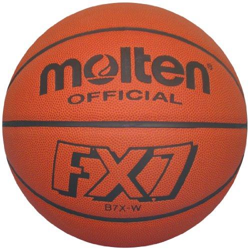 Molten FX7 Basketball (Orange, Official/Size 7)