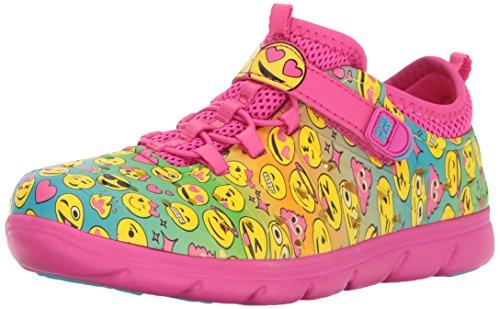 Stride Rite Made 2 Play Phibian Sneaker Sandal Water Shoe (Toddler/Little Kid/Big Kid), Pink/Multi, 11 Medium US Little Kid