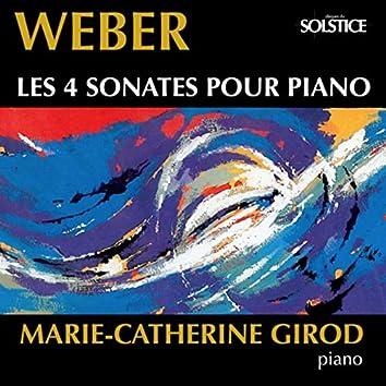 Weber: 4 Piano Sonatas