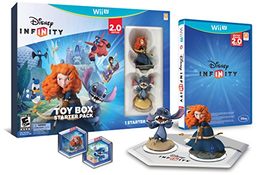 Disney INFINITY: Toy Box Starter Pack (2.0 Edition) - Wii U by Disney Infinity