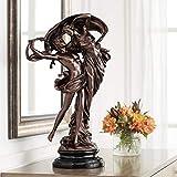 Universal Lighting and Decor Floating Dancing Couple Bronze Finish 25 3/4' High Sculpture - Kensington Hill