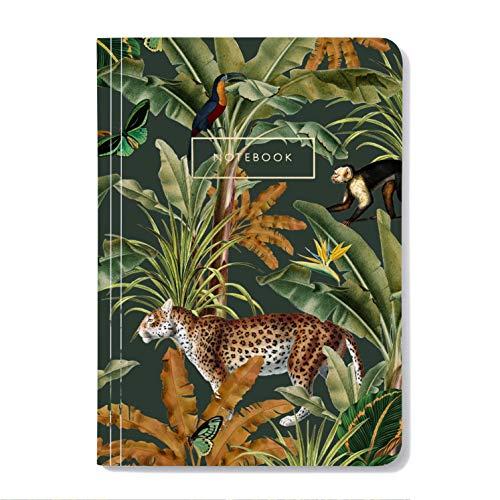Mighty Jungle notizbuch, Din A5, soft cover, linierte seiten, vollfarbig...