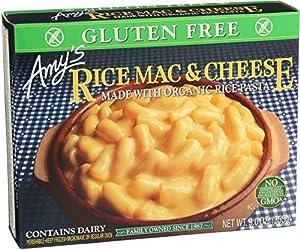 Amy's Entrées, Gluten Free Rice Mac & Cheese, 9.0 Ounce (Frozen)