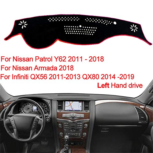 Padholder Edge Series Premium Tablet Dash Kit 2004-2007 Infiniti QX56 with Column Shift for iPad /& Other Tablets Pad Holdr PHE75130-704-1