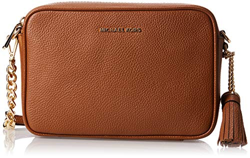 Michael Kors Damen JET SET MD CAMERA BAG, Braun, Einheitsgröße