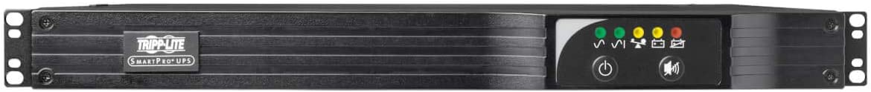 Tripp Lite 500VA UPS Backup, 230V 300W Line-Interactive, 1U Rack/Tower, Network Card Options, USB, DB9 Serial (SMX500RT1U)