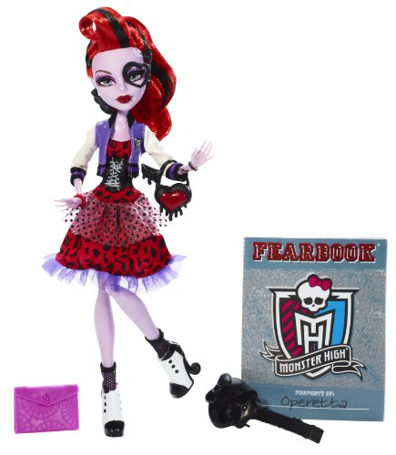 Monster High – bbj70 – Puppe Ankleidepuppe – Picture Day – Operetta