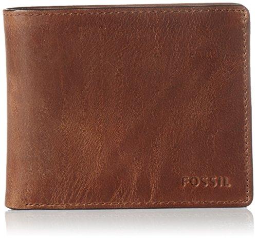 Fossil Herren Derrick ML3687 Geldbörse, Braun (Brown 200)