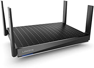 Linksys MR9600 Mesh Wi-Fi Router (Wi-Fi 6 Router, Dual-Band Wireless Mesh Router for Home Mesh Network) Future-Proof Fast ...