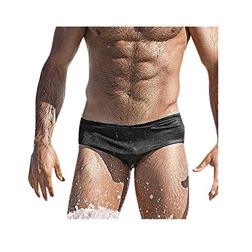 Celucke Herren Badehose Kurze Schwimmhose Enge Badeslip Männer Badeshorts Stretch Bademode Slips Schnelltrocknend Schwimmshorts Badepants Sommer Shorts