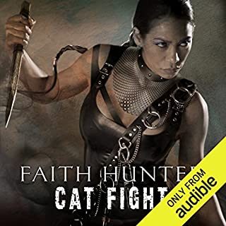 Cat Fight     A Jane Yellowrock Novella              Written by:                                                                                                                                 Faith Hunter                               Narrated by:                                                                                                                                 Khristine Hvam                      Length: 4 hrs and 15 mins     2 ratings     Overall 5.0