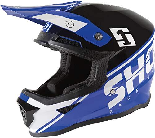 Shot Furious Spirit Casco Motocross Blu/Nero L (59/60)