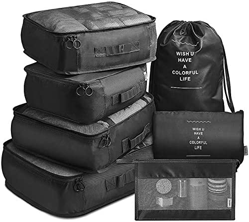 YOUR MOON Popular brand in the world New popularity Packing cubes compression set organizer luggage