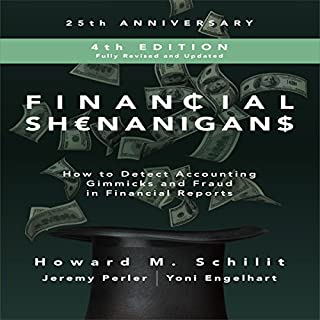 Financial Shenanigans, Fourth Edition cover art