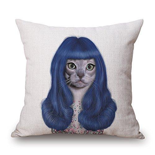 yting Pillow Dog Pillow Shams, s'adapte au Sol, Filles, canapé, Salon de Dessin, Fils, siège 18\