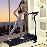 Blitzzauber24 Tapis Roulant électrique Tapis de Marche de Course Machine de Fitness d'exécution de Formation avec écran LCD