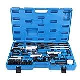 Kit de extractor de inyector diesel, 40 piezas Inyector de diesel común Extractor de inyector Extractor de inyector Extractor Extractor Kit de boquillas de inyección con estuche de almacenamiento