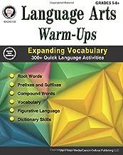 Language Arts Warm-Ups, Grades 5 - 8: Expanding Vocabulary