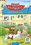 Bruno Bratwurst und die bissigen Geister (Bruno Bratwurst 3): Lustiges Hundeabenteuer für Mädchen und Jungen ab 8 Jahre | mit vielen Bildern (German Edition)