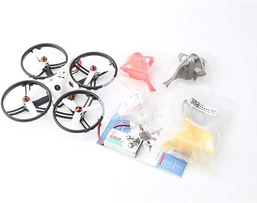 CHOULI LDARC ET125 V2 5.8G Brushless OSD AC900 RX-Kamera Mini FPV RC Racing Drone PNP SchwarzRing