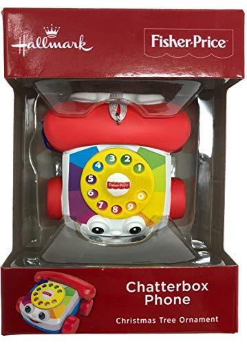 2018 Hallmark Fisher Price Chatter Telephone Christmas Ornament