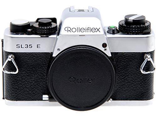 Cámara Rollei Rolleiflex SL35 E Silver Reflex de película usada. SL 35 Body.