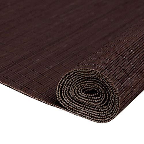 Jcnfa-rolgordijn natuurlijke bamboe rolgordijnen, rolgordijnen voor buitenschaduw, bevestigingsmateriaal inbegrepen, Valance, 50% verduisteringsschaduw voor thuis, multi-size