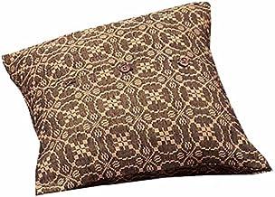 """Home Collection by Raghu Marshfield Jacquard Black & Tan Pillow Sham, 21"""" x 31"""""""