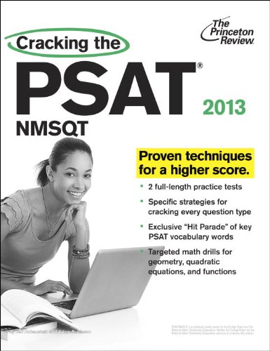 Compare Textbook Prices for Cracking the PSAT/NMSQT, 2013 Edition College Test Preparation  ISBN 9780307944764 by Princeton Review