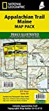 Appalachian Trail: Maine [Map Pack Bundle] (National Geographic Trails Illustrated Map)