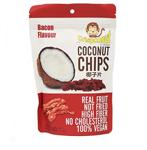 MW polar Crispconut Coconut Chip, Bacon, 1.40 Ounce (Pack of 8)