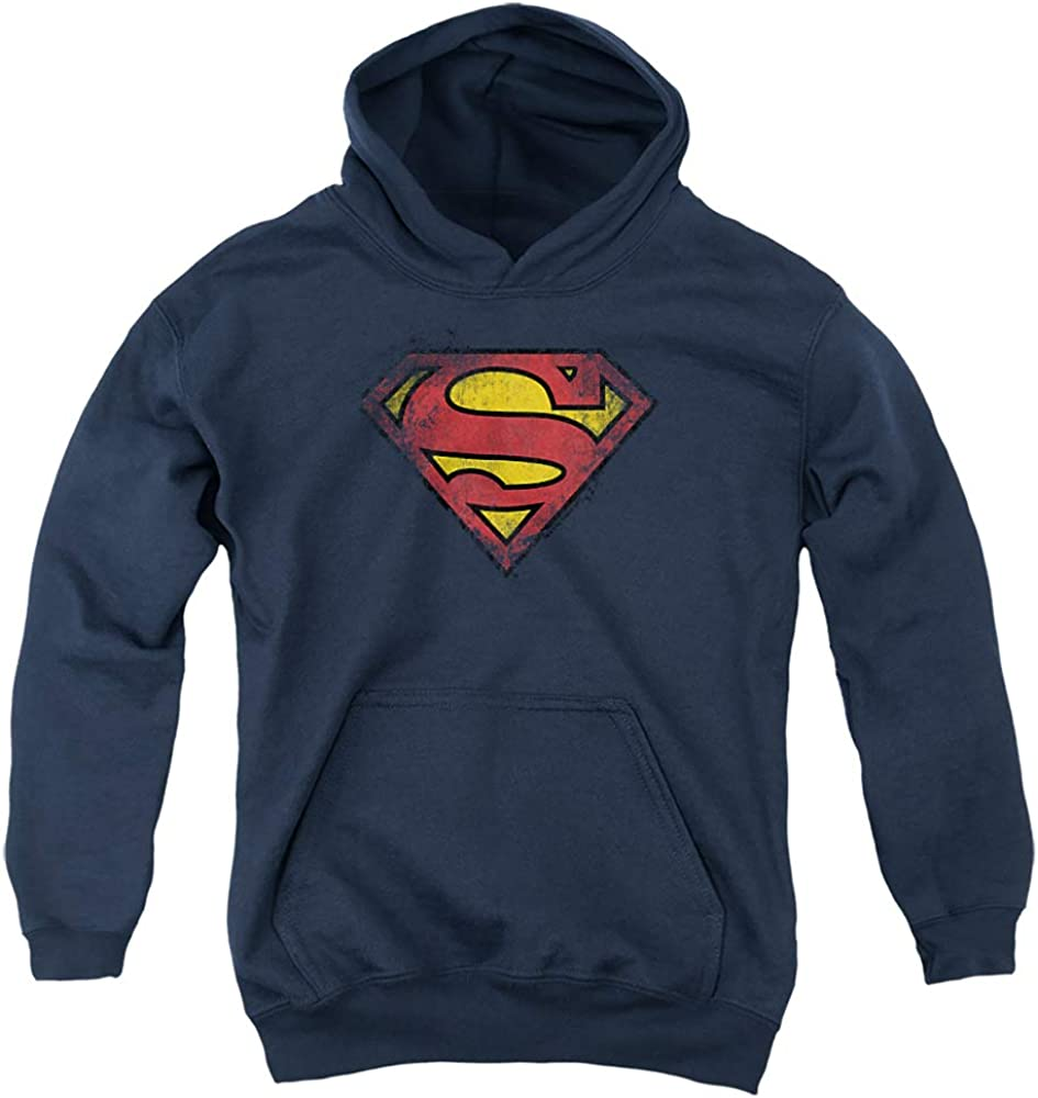 Superman Destroyed Supes Direct store Logo Unisex Pull-Over Hoodie latest Youth