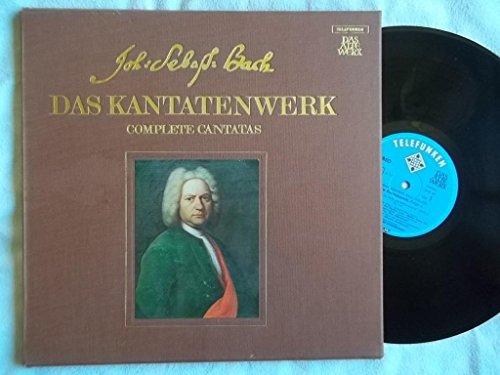 SKW 6/1-2 VARIOUS JS Bach Complete Canatatas Vol 6 BWV 21-23 2 LP box set