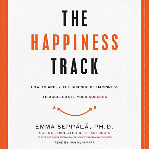 The Happiness Track audiobook cover art