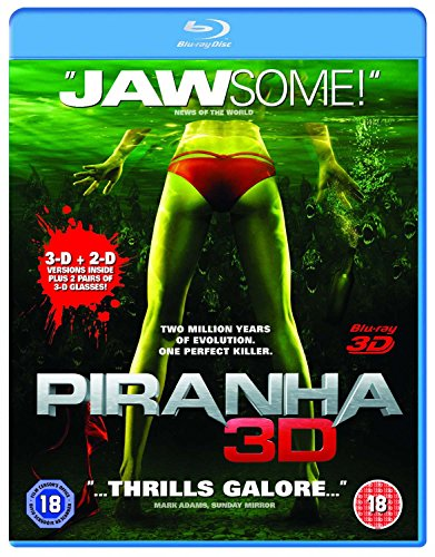 Piranha 3D (UK-Import)[BLU-RAY]
