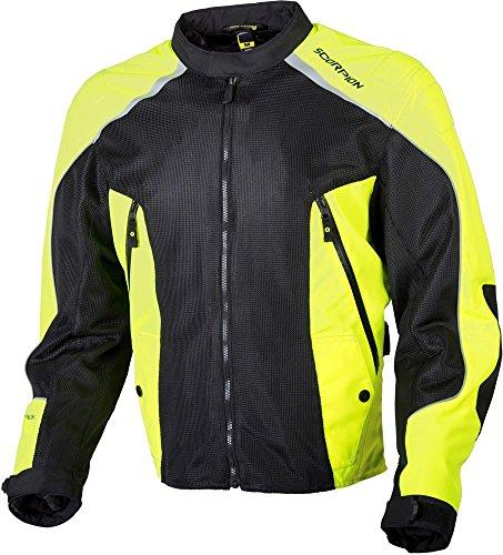 Scorpion Ascendant Velocity Mens Textile Jacket Neon Yellow/Black