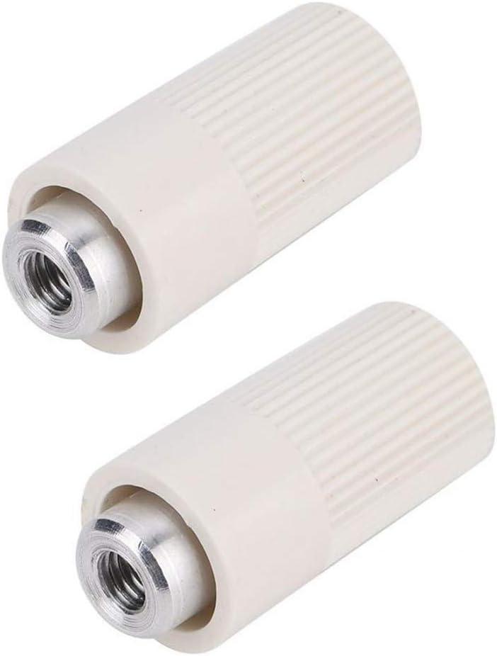 Herramientas de costura 2pcs máquina for hacer punto de la biela Tuerca for Silver Reed SK840 SK580 SK155 SK280 SK272 SK218