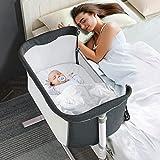 RONBEI Baby Bassinet Bedside Sleeper,Easy to...