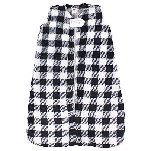 Hudson Baby Unisex Baby Plush Sleeping Bag, Sack, Blanket, Black...