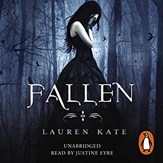 Fallen     Fallen 1              By:                                                                                                                                 Lauren Kate                               Narrated by:                                                                                                                                 Justine Eyre                      Length: 10 hrs and 56 mins     231 ratings     Overall 4.1