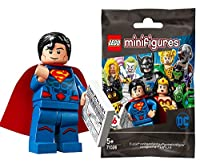 レゴ(LEGO) ミニフィギュア DCスーパーヒーローズ シリーズ スーパーマン│Superman (from New 52 storyline) 【71026-7】