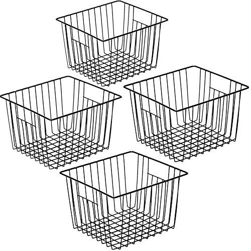 wire basket freezer - 3