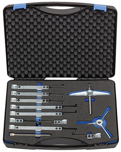 GEDORE 1.07/K Abzieher-Set mit 9 Haken 130x100/200/250 mm