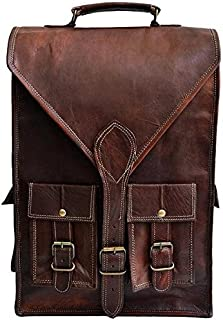 TUZECH Hunter Leather Bag Messenger/Laptop/Regular Satchel Bag - 11.6 Inches (Laptop)