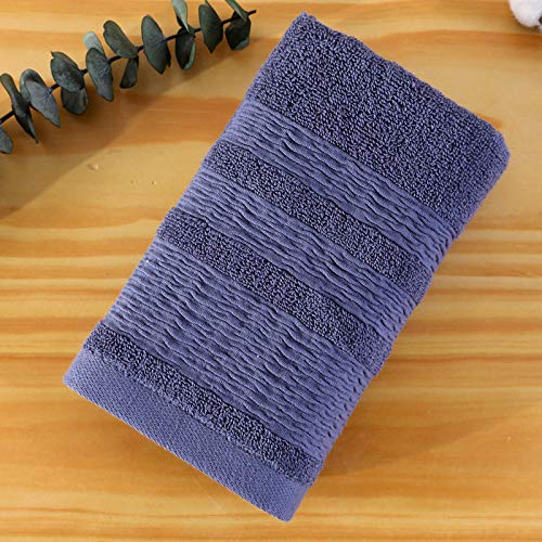 CMZ Toallas de algodón Absorbente Espesado Disponibles en los supermercados del Hotel Toallas Suaves absorbentes de Sudor (34x76 cm)