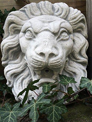 Antikas Großer Löwenkopf   Aus Stein   Wasserspeier   Brunnen Dekoration Wie Antik