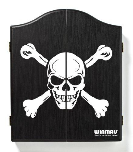 WINMAU Skull Deluxe Dartscheibe Schrank